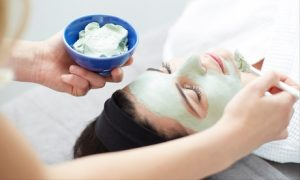 Customers can indulge in a choice of a revitalising facial or facial mask