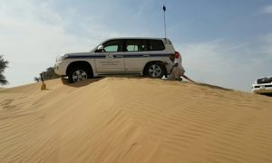 Off-Road Desert Driving Course