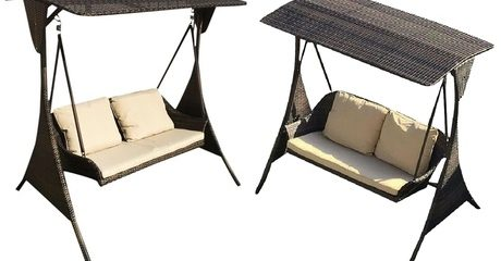 Outdoor Two-Seater Swing