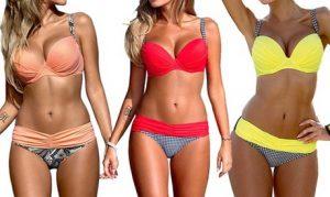 Push-Up-Style Bikini Set