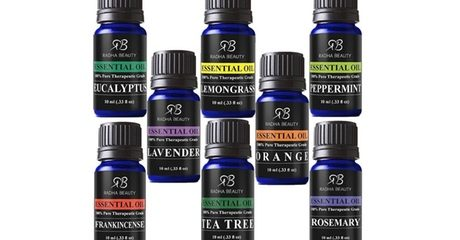 Set of Radha Beauty Essential Oils