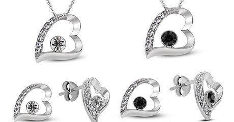 Seven-Heart Jewellery Set