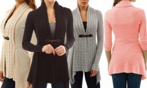 Women's Belted Cardigan