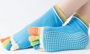 Women's Five-Finger Yoga Socks