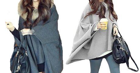 Women's Hooded Poncho