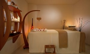 One or two guests can indulge in a choice of spa treatment