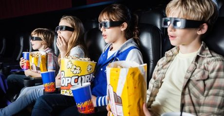 6D Cinema Experience or Laser Tag