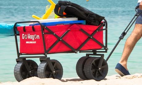 Gowagon The All Terrain Folding Beach Wagon With Big