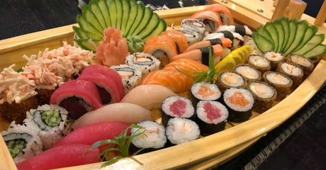 All-You-Can-Eat Sushi Boat