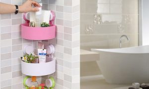 Bathroom Storage Suction Holders