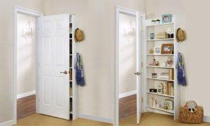 Behind-the-Door Storage Cabinet