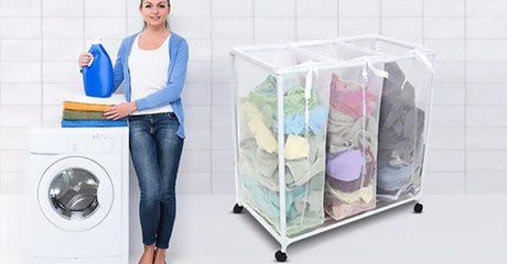 China Glaze Laundry Basket