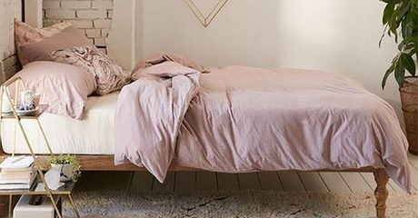 Classic Solid Wood Bed Frame