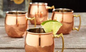 Copper-Plated Mug