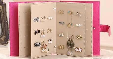 Earring Storage Book