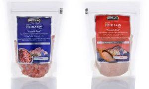 Four Packs of Pink Himalayan Salt