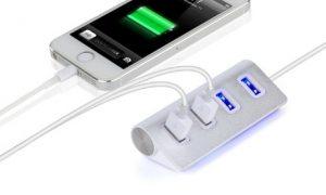 Four-Port Universal USB Hub