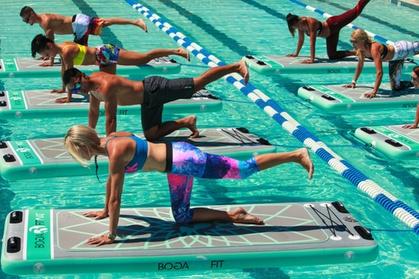 Group Aqua Float Fitness Class
