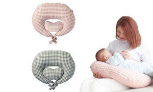 Heart-Shaped Feeding Pillow
