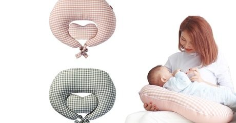 Heart-Shaped Feeding Pillow