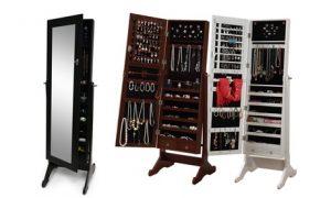 Mirrored Jewellery Cabinet