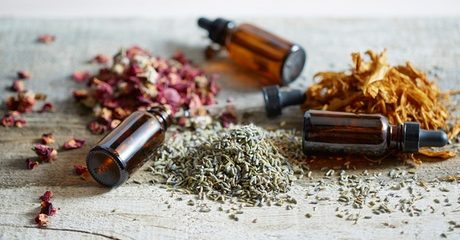 Indulge in a Moroccan bath with herbs