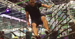 Ninja Warrior Obstacle Course
