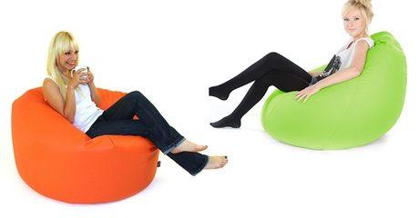 PVC Leather Beanbag