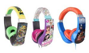 Sakar Kids-Safe Headphones
