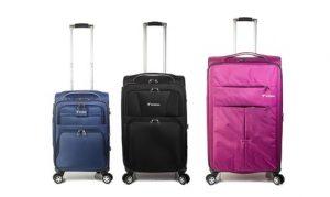 Three-Piece Trolley Luggage Sets