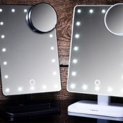 Touchscreen LED Make-Up Mirror