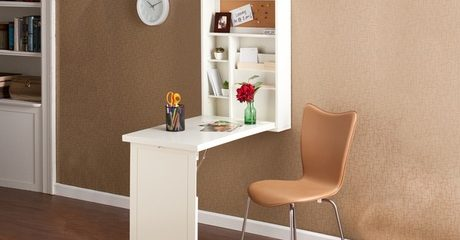 Wall-Mounted Murphy Desk