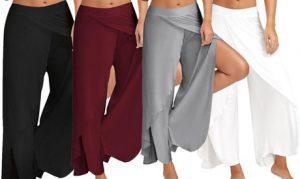 Women's Wide-Leg Trousers