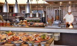 5* Buffet and Drinks at Marriott Hotel Al Forsan