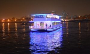 Catamaran Cruise on Dubai Canal