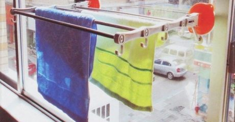 China Glaze Telescopic Towel Rack
