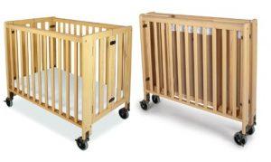 Compact Foldable Baby Crib
