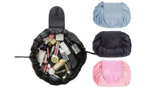 Drawstring Cosmetics Travel Bag