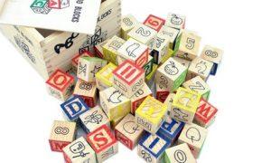 Educational Wooden ABC Blocks