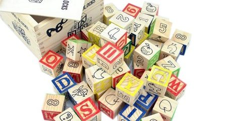 Educational Wooden ABC Blocks