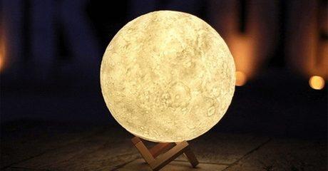 LED 3D Moon Lamps