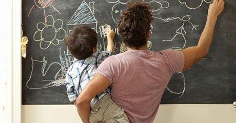 Whiteboard or Chalkboard Sticker