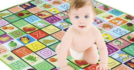 Double-Sided Baby Playmat