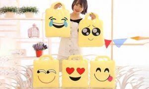 Emoji Pillow Blanket