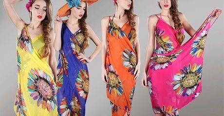 Floral Chiffon Cover-Up