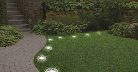 Outdoor Solar Ground LED Lights