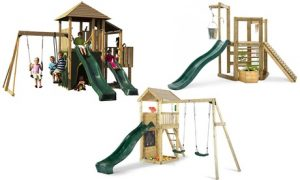 Outdoor Wooden Play Set