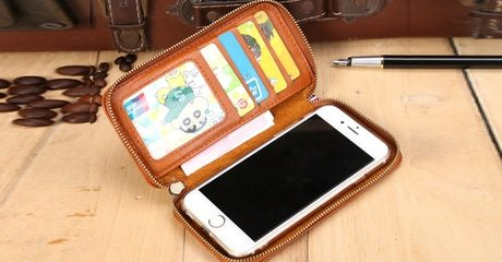 PU Leather Smartphone Wallet