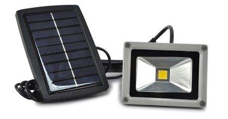 Solar Flood-Light Spotlight
