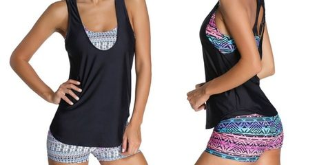 Three-Piece Swim or Sports Set